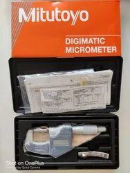 Mitutoyo Digital Micrometer 0 25 Mm