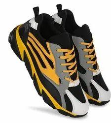 Men Lace Up Sports Shoe, Size: 5