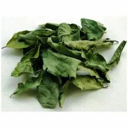 Dehydrated Curry Leaves, Plastic Bag, Packaging Size: 25 Kg