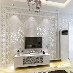 PVC Bedroom Designer Wallpaper