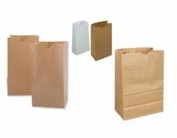 Duplex Paper Bag With Gusset