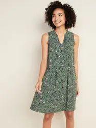 Surplus Ladies Floral Print Western Dress