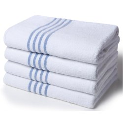 Blue Stripe Bath Towel