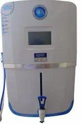 蓝白纤维肯特智能碱性矿物反渗透净水器,超滤,容量:15升
