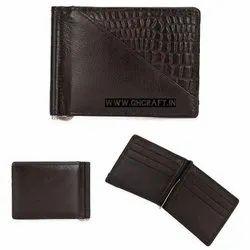 Multicolor Trifold Men Leather Wallet