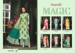 Ladies Designer Rayon Palazzo Suit