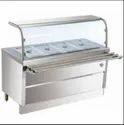 Four Compartment Bain Marie Counter