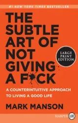 Mark Manson English The Subtle Art Of Not Giving A F*ck Book