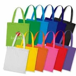 Cotton Colored Bag / Multicolor Cotton Bag / Plain Color Cotton Bag / Colored Cotton Tote Bag