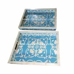 Divian Bone Inlay Tray