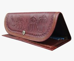Dark Brown Leather Ladies Wallet