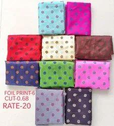 Foil Print-6 Jacquard Blouse Fabric