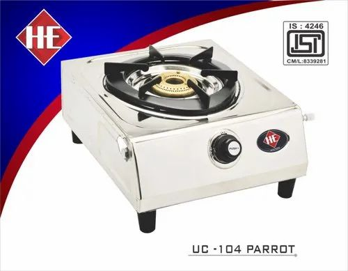 UC-104 Parrot SS One Burner Stove