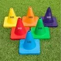 SAS Sports 4inch Agility Marking Cone (Set Of 12) Multi Color