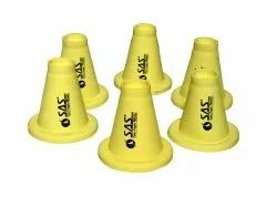 SAS PVC Cricket Batting Tee - Yellow