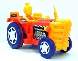 Plastic Bahubali Tractor Toy, Child Age Group: 2-5 Year