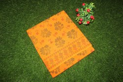 Sareeszone Casual Wear Sungudi Cotton Sarees, Without Blouse, 5.5 m