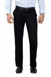 Flat Slim Fit Mens Formal Pants, Machine wash