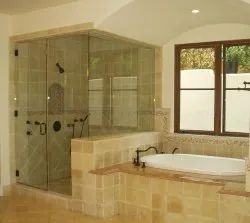 Shower Partition Glass, For Home