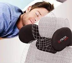 270 Retractable Adjustable Cockpit Memory Foam HEADREST with Neck Cushion