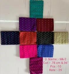 Jacquard designer silk blouse