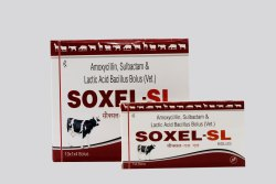 Amoxycillin, Sulbactam & Lactic Acid Bacillus Bolus, Prescription, Packaging Type: Box