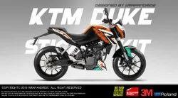 Ktm Duke 690 R Design Wrap,Decals,Sticker,Kit
