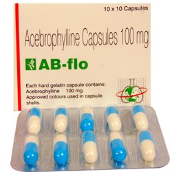 Acebrophylline (100mg) AB flo Capsules, Lupin Ltd, 10 Capsule/ Strip