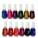 Colored Nail Polish, Packaging Size: 10 Ml