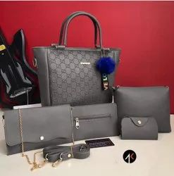latest Multicolor Gucci Ladies Bags, For anywhere, Size: 5 Pieces Combo
