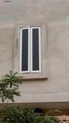 Modern White Aluminium Glass Window, For Home, Size/Dimension: 2 X 4 Feet (w X L)