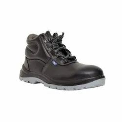 Allen Cooper AC-1008 HI - Ankle Double Density PU Leather Safety / Industrial Shoes
