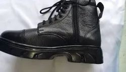 Boot Formal Black Army Leather Shoes