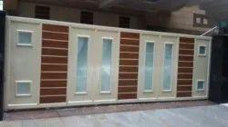 Slide Mild Steel Automatic Sliding Gate, For Residential