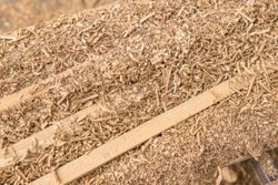 Brown Mixed Wood Saw Dust Powder, For Industry