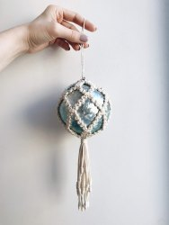 Charismatic Macrame Christmas Ornaments
