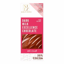 NIDZ Milk Chocolate, Number Of Pieces: 1