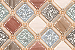 Digital Ceramic 12x18 Glossy Tiles, Thickness: 6 - 8 mm, Size/Dimension: Medium