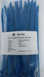 Metal Detectable Nylon Cable Ties