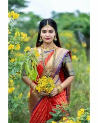 Kanchipuram Silk Saree For Women