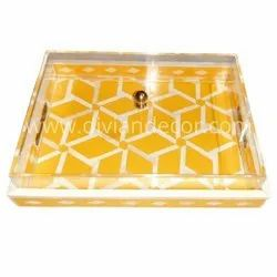 Acrylic Mother Of Pearl Trays