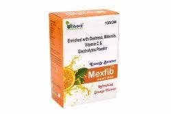 Instant energy booster Powder with dextrose, minerals and vitamin C
