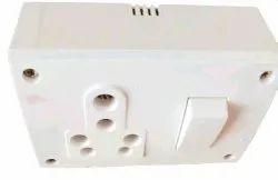 Polycarbonate Modular Switch Socket Combination Board, Module Size: 11x7x5 Cm