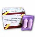 Dicyclomine hydrochloride levofloxacin hemihydrate & ornidazole bolus