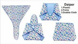 Reusable Cloth Diaper Sinker Baby Designer Diapers, Age Group: 3-12 Months, Packaging Size: Individual
