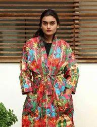 Farida Design Cotton Bathrobe