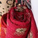 Vintage Cotton Sari Patchwork Reversible Kantha Bed Sheet