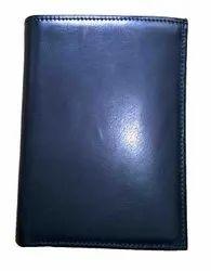 Plain German Leather wallets, Compartments: 3