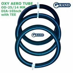 Grand Oxy Aero Tube (od-25/14 Mm) With Tee For Biofloc Tank Pond Aeration Increase Oxygen