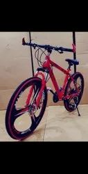 Red CARBON STEEL Bmw Power X Cycle, Size: 26